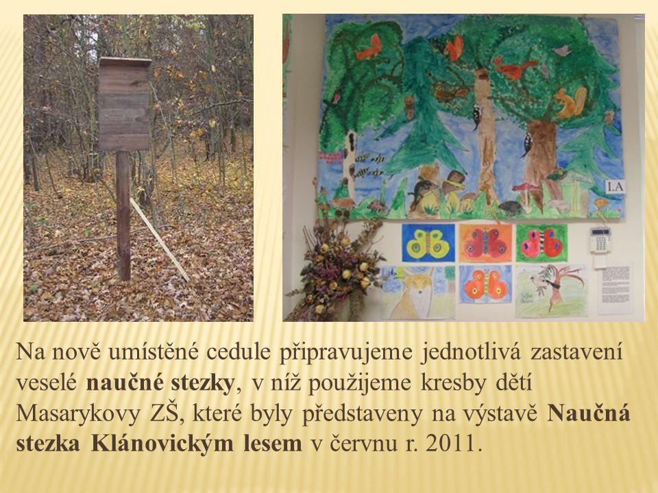 S Lesy ČR, újezdskou radnicí a ZŠ Masarykova přetváříme nucený průsek v lese, který není možné znovu zalesnit, ve sportovně- odpočinkovou zónu pro všechny věkové kategorie.
