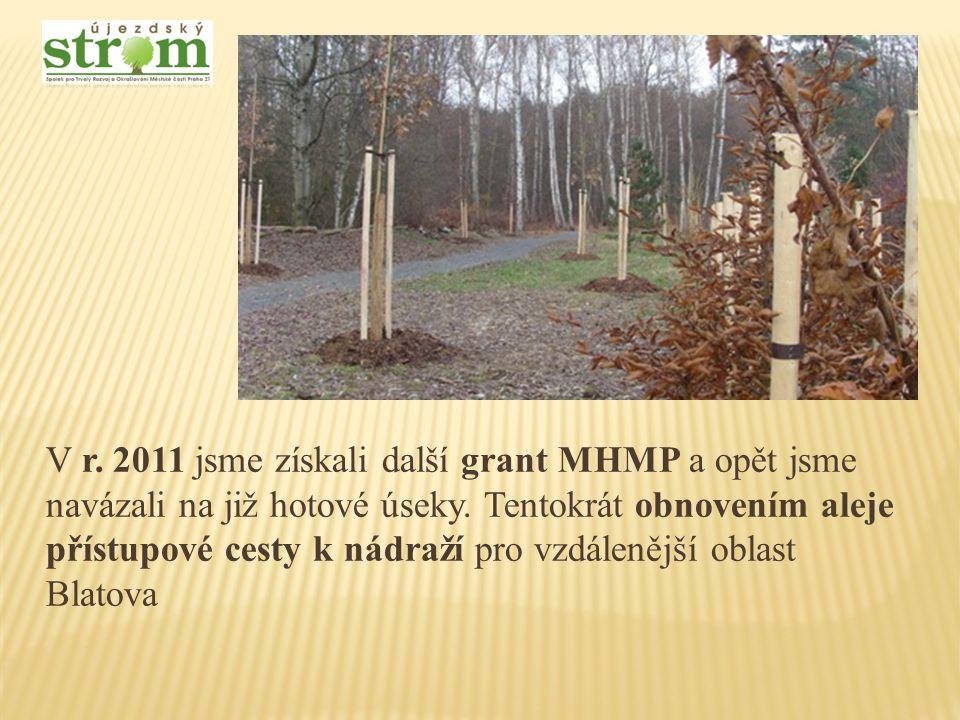 Na nově umístěné cedule připravujeme jednotlivá zastavení veselé naučné stezky, v níž použijeme kresby dětí Masarykovy ZŠ, které byly představeny na výstavě Naučná stezka Klánovickým lesem v červnu r.