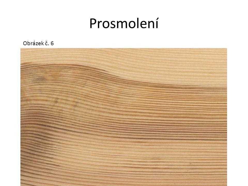 Nepravé jádro Nenormální tmavé zbarvení vnitřní části dřeva listnatých dřevin, které jádro za normálních okolností netvoří (buk, bříza, javor).