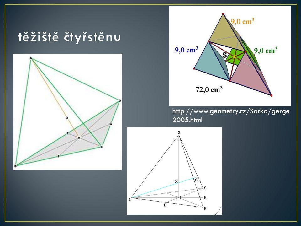 http://www.geometry.cz/Sarka/gerge 2005.html