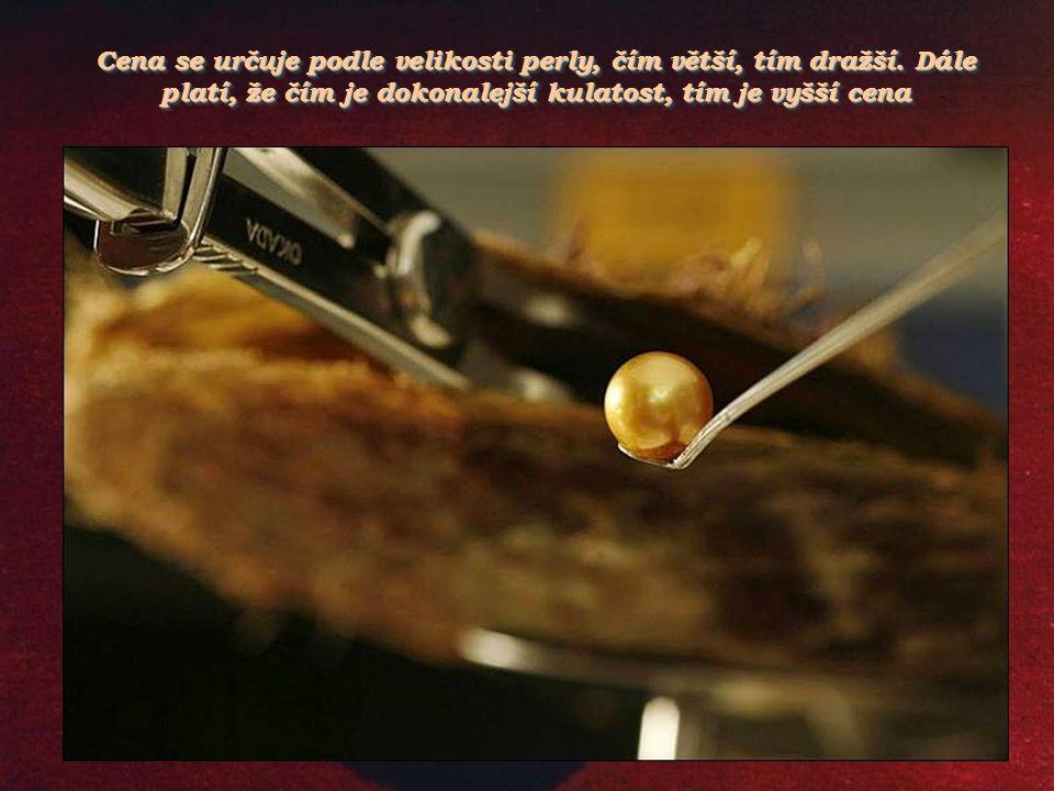 Posledním zázrakem je japonská sladkovodní perla vypěstovaná v roce 1994, která je růžová až načervenalá. Posledním zázrakem je japonská sladkovodní p