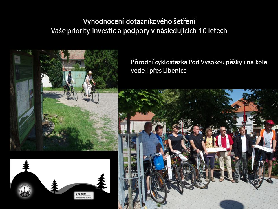 Přírodní cyklostezka Pod Vysokou pěšky i na kole vede i přes Libenice