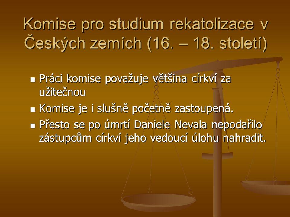 Komise pro studium rekatolizace v Českých zemích (16.