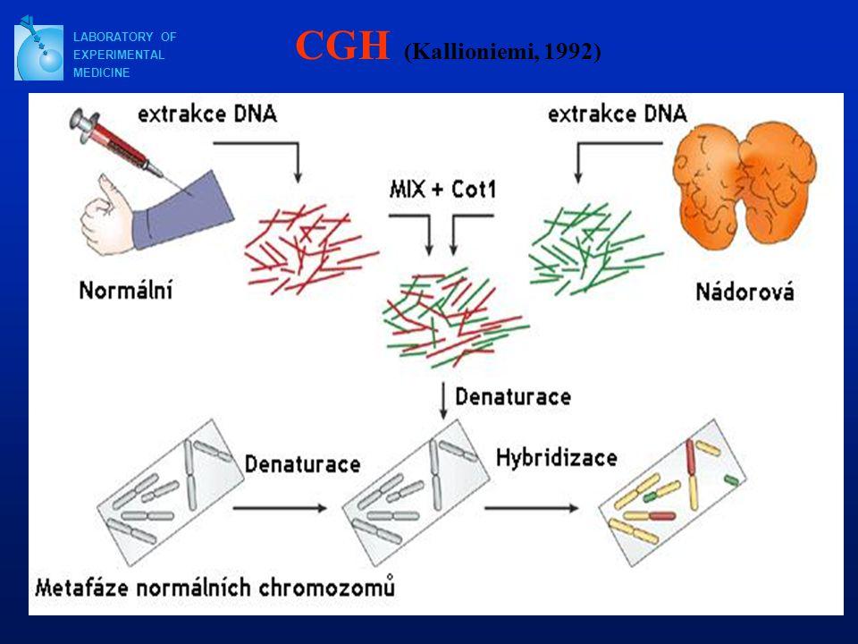 LABORATORY OF EXPERIMENTAL MEDICINE CGH (Kallioniemi, 1992)