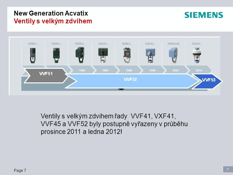 7 Page 7 Ventily s velkým zdvihem řady VVF41, VXF41, VVF45 a VVF52 byly postupně vyřazeny v průběhu prosince 2011 a ledna 2012.