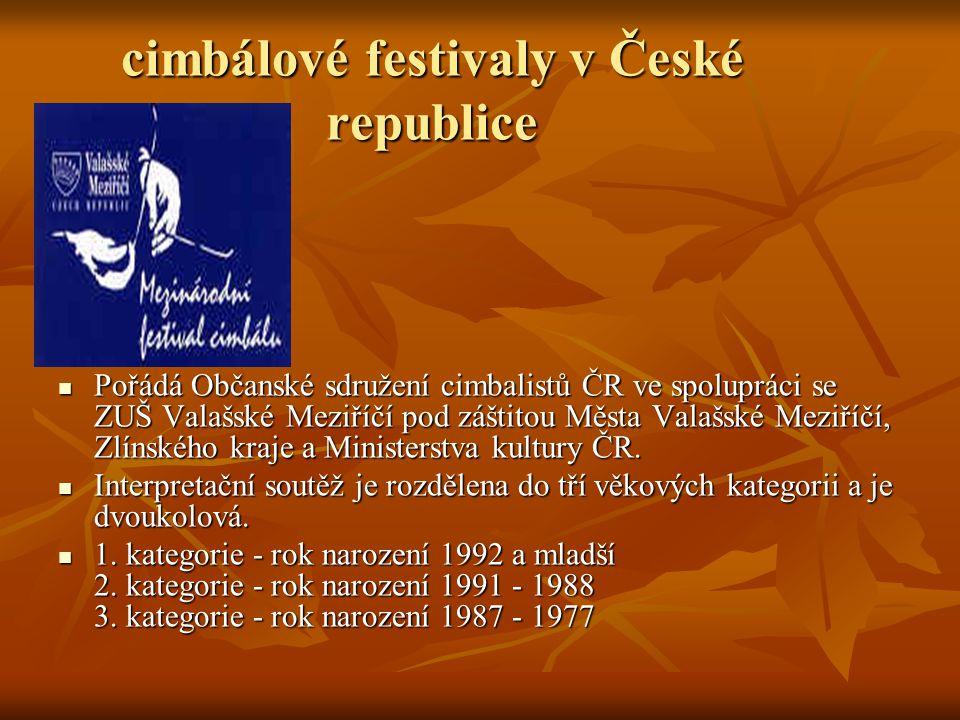 7.mezinárodní festival cimbálu