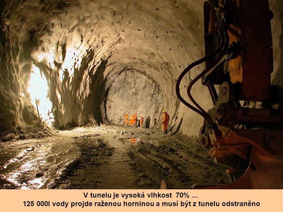 Tunel je veden osmi různými horninami. Je to zejména žula, vápenec a dokonce i mramor.. Průměr tubusů je 8,40 m, síla betonové obezdívky je 40 cm.