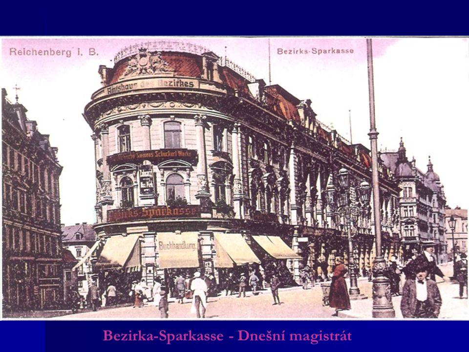 Bezirka-Sparkasse - Dnešní magistrát