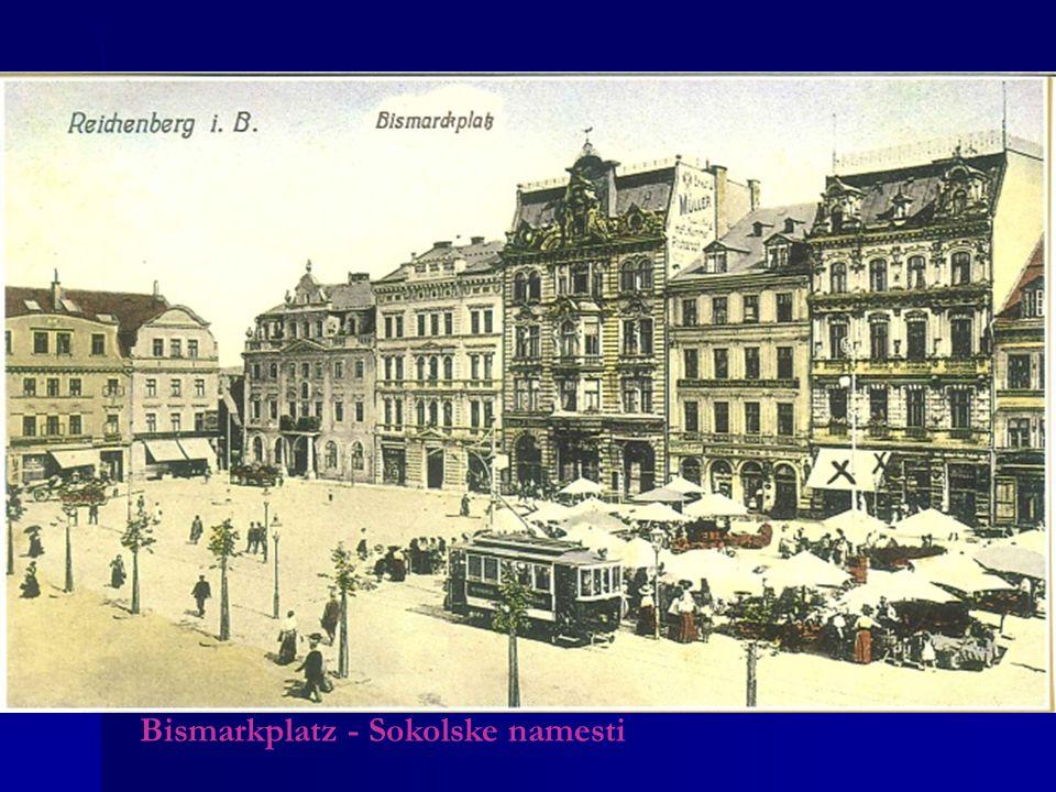 Bismarkplatz - Sokolske namesti