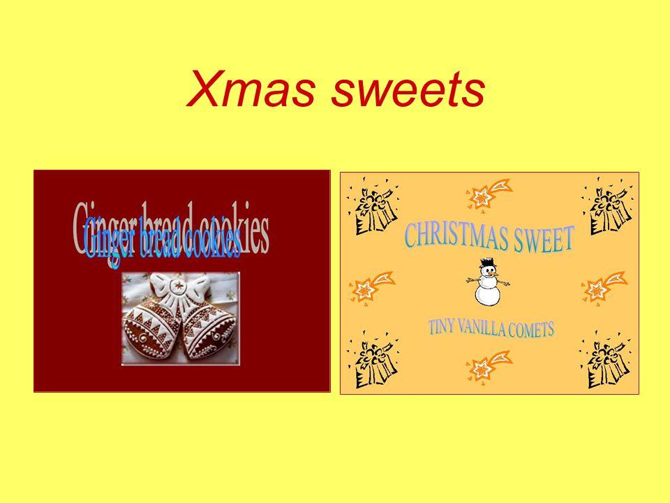 Xmas sweets