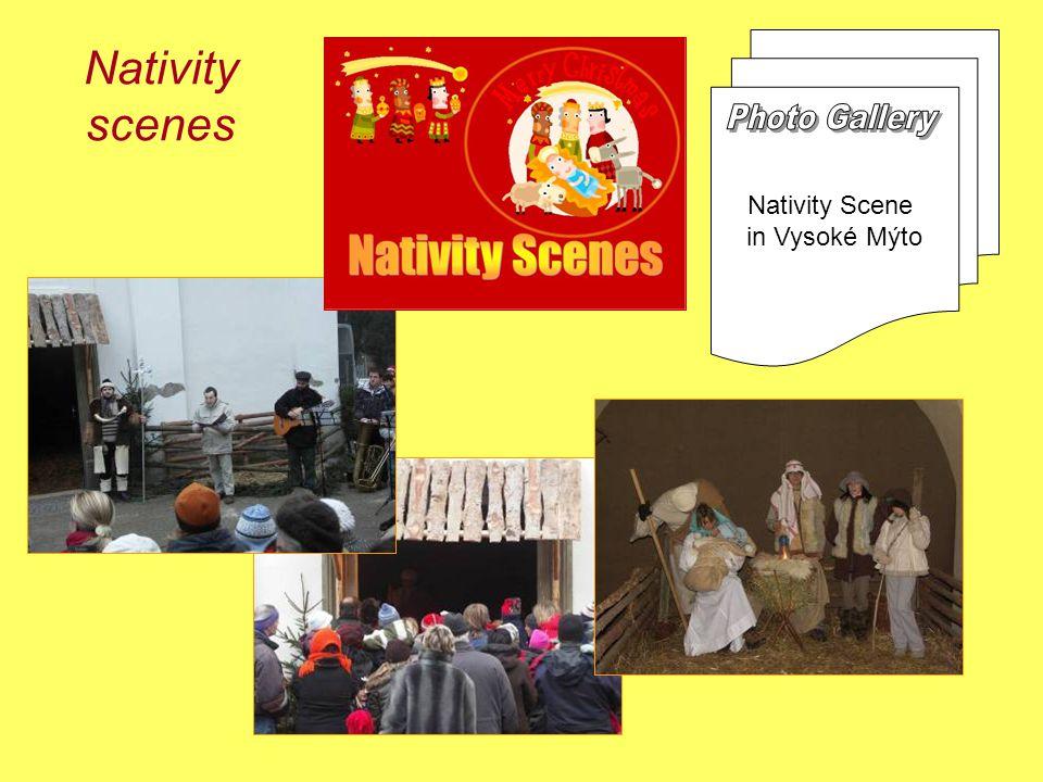 Nativity scenes Nativity Scene in Vysoké Mýto