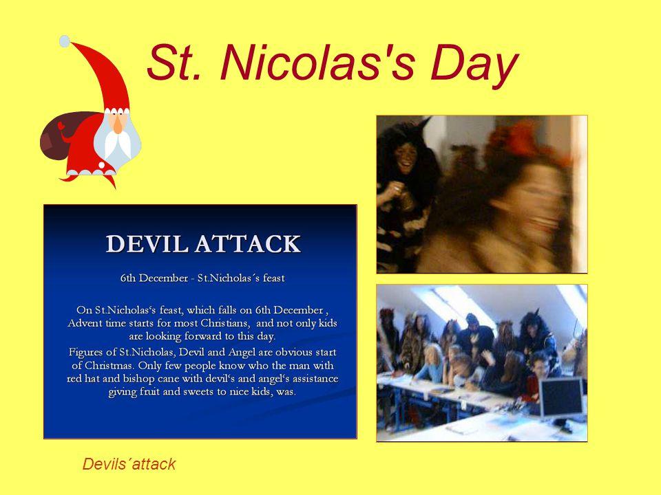 St. Nicolas s Day Devils´attack