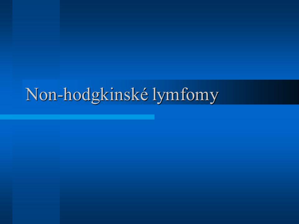 Non-hodgkinské lymfomy
