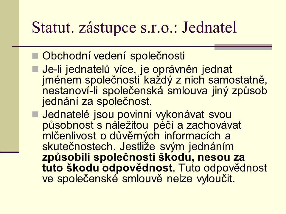 Statut.