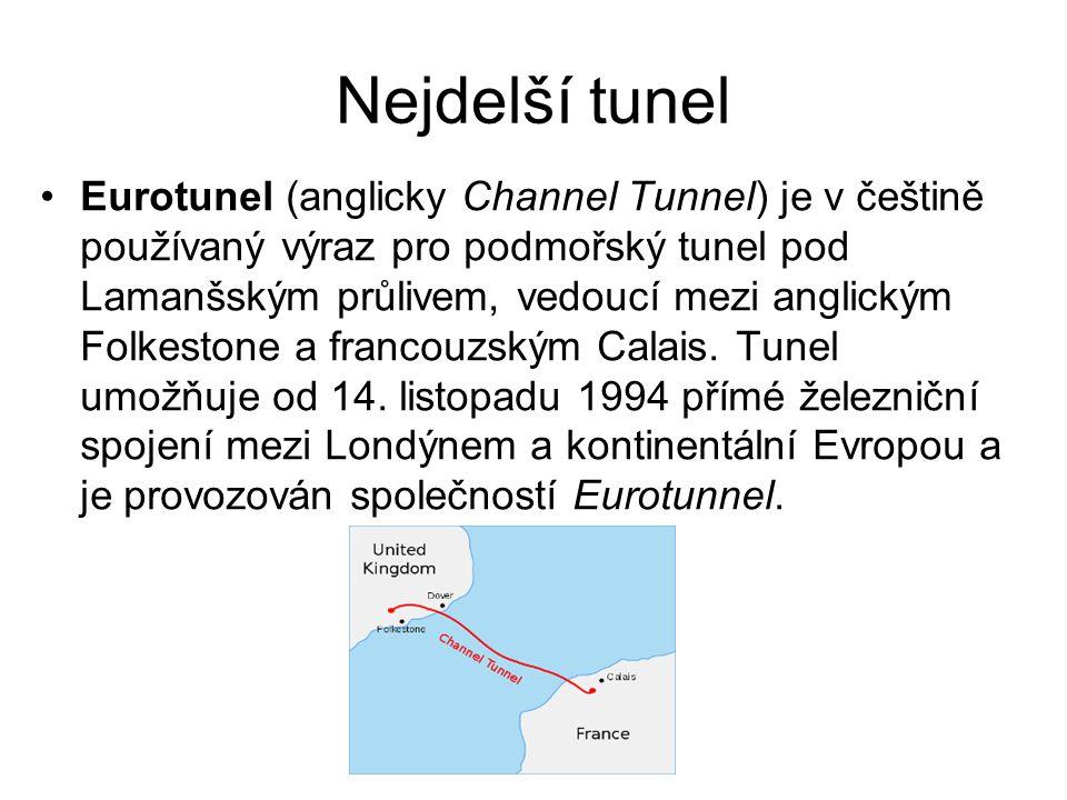 Nejdelší tunel Eurotunel (anglicky Channel Tunnel) je v češtině používaný výraz pro podmořský tunel pod Lamanšským průlivem, vedoucí mezi anglickým Fo
