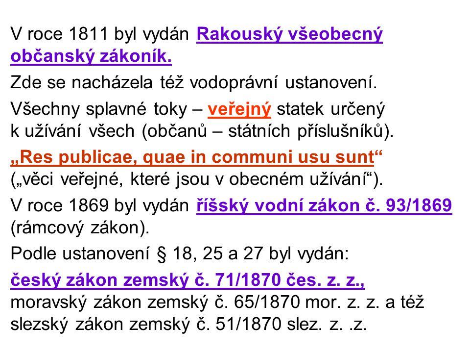 Zemské zákony platily v Čechách, na Moravě a ve Slezsku až do roku 1942, kdy byla vládním nařízením č.