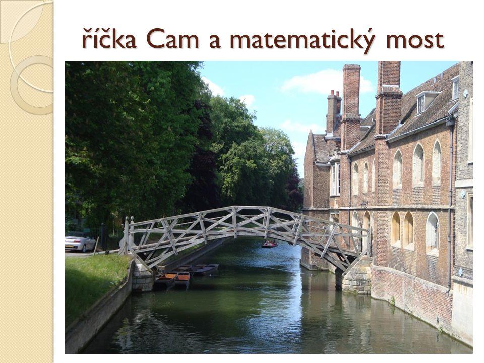 říčka Cam a matematický most