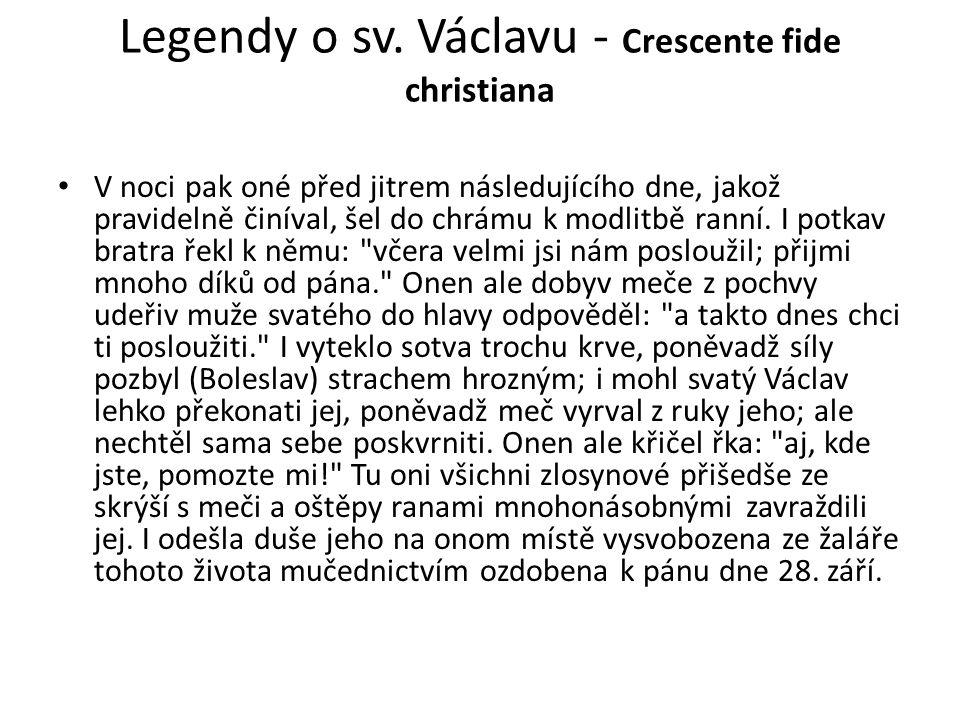 Legendy o sv.