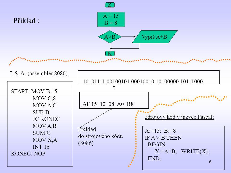 57 Příklad Program crtdemo; uses crt; begin Randomize; Window(10,5,70,20); TextBackground(blue); ClrScr; repeat TextColor(random(16); write( ahoj ); delay(500); if KeyPressed then ch:=ReadKey until ch=#27; end.