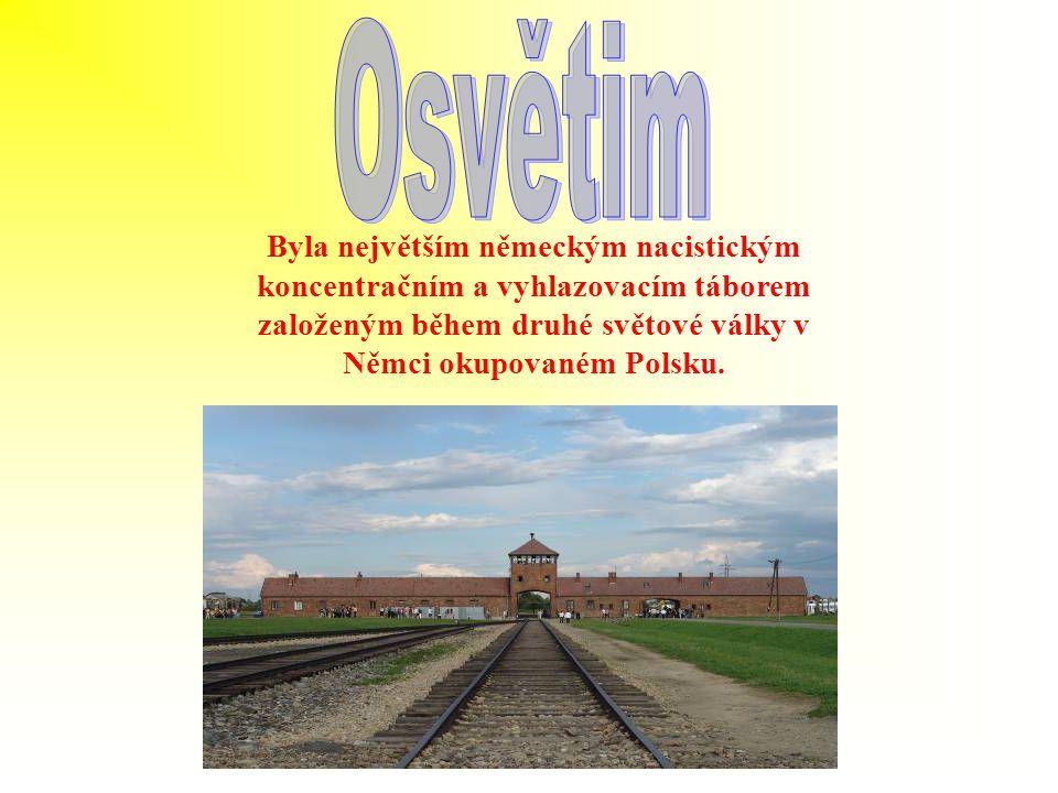 Byla největším německým nacistickým koncentračním a vyhlazovacím táborem založeným během druhé světové války v Němci okupovaném Polsku.