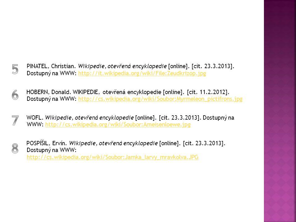 PINATEL, Christian. Wikipedie, otevřená encyklopedie [online]. [cit. 23.3.2013]. Dostupný na WWW: http://it.wikipedia.org/wiki/File:Zeudkrizop.jpghttp