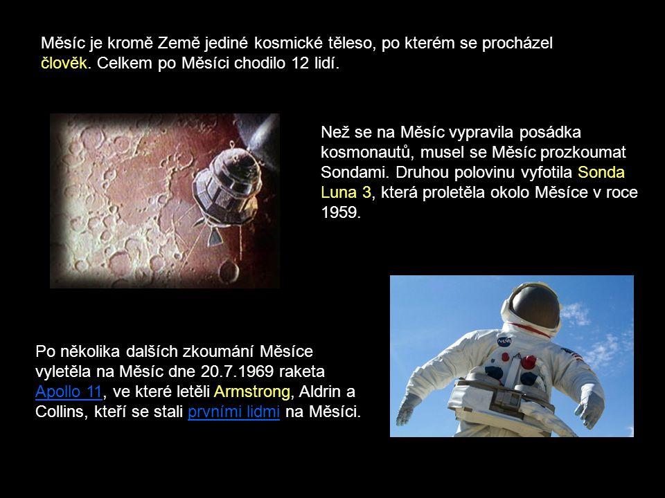 Než se na Měsíc vypravila posádka kosmonautů, musel se Měsíc prozkoumat Sondami. Druhou polovinu vyfotila Sonda Luna 3, která proletěla okolo Měsíce v