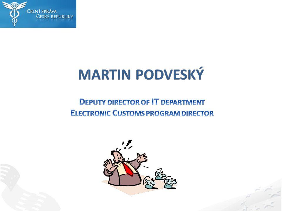 Další vývoj IT v EU – CCN2 – IT Master Plan Národní vývoj - předpoklad