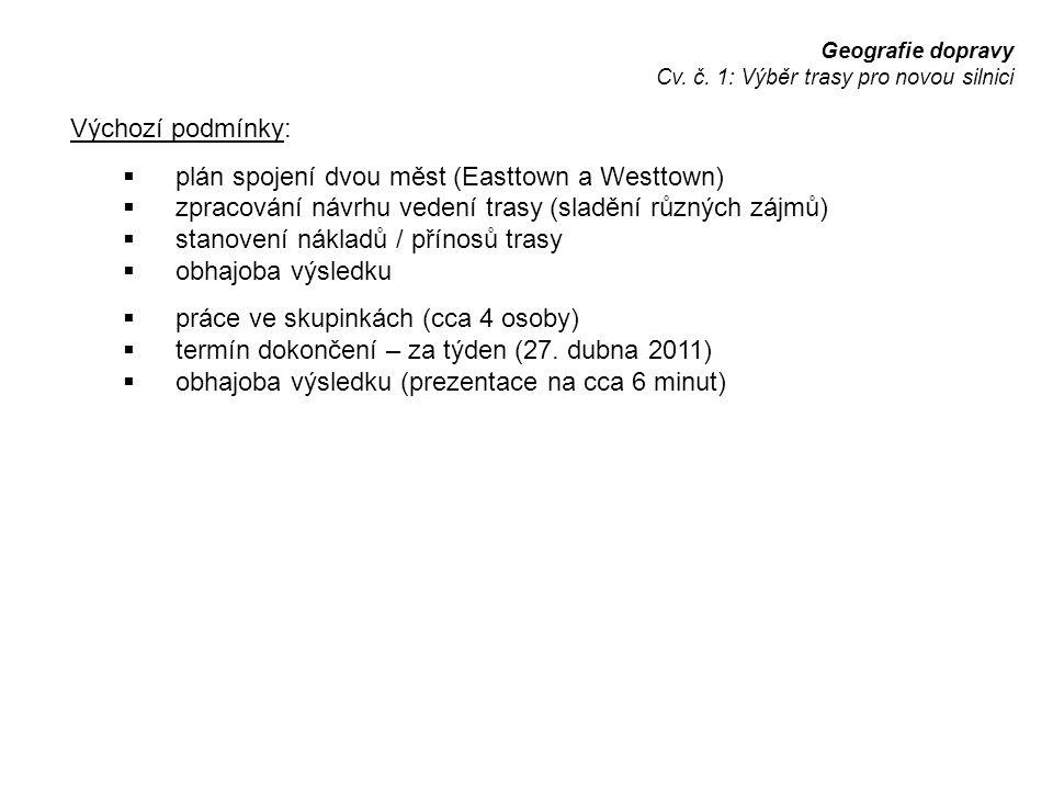 Geografie dopravy Cv.č.