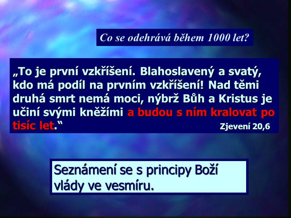 """20. kap. knihy Zjevení odděluje """"vzkříšení k životu"""" od """"vzkříšení k soudu"""" obdobím 1000 let. Milénium = 1000 let z latinského mille = 1000 annus = ro"""