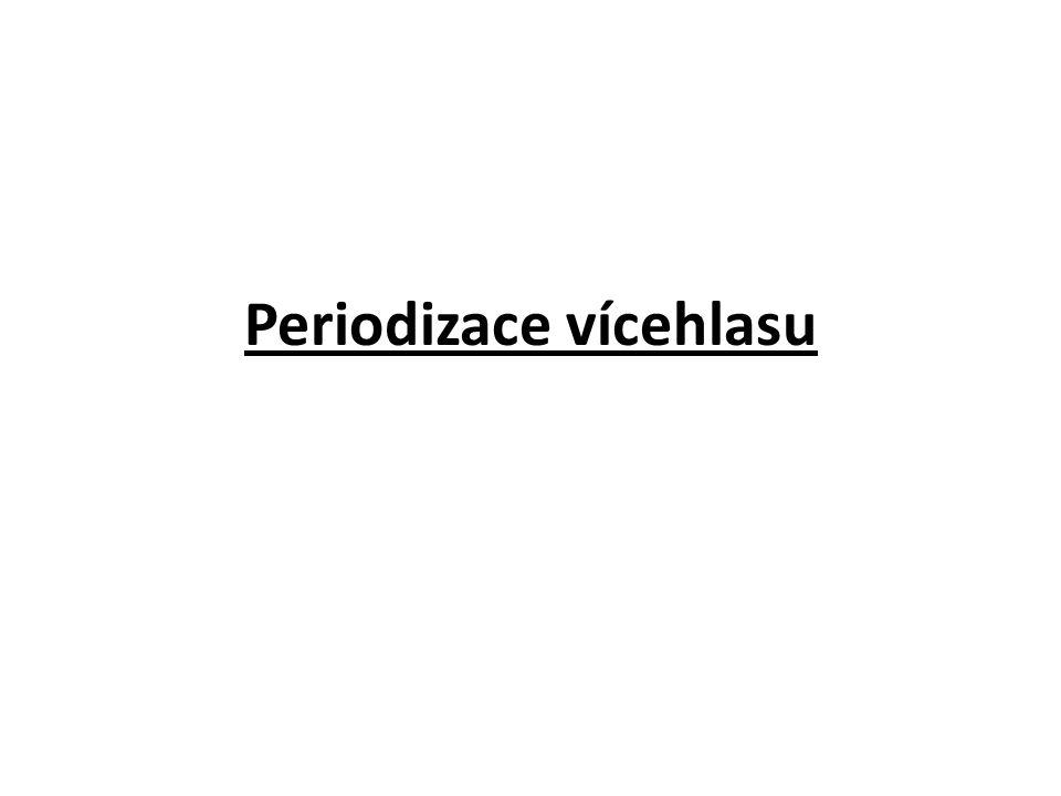 Periodizace vícehlasu