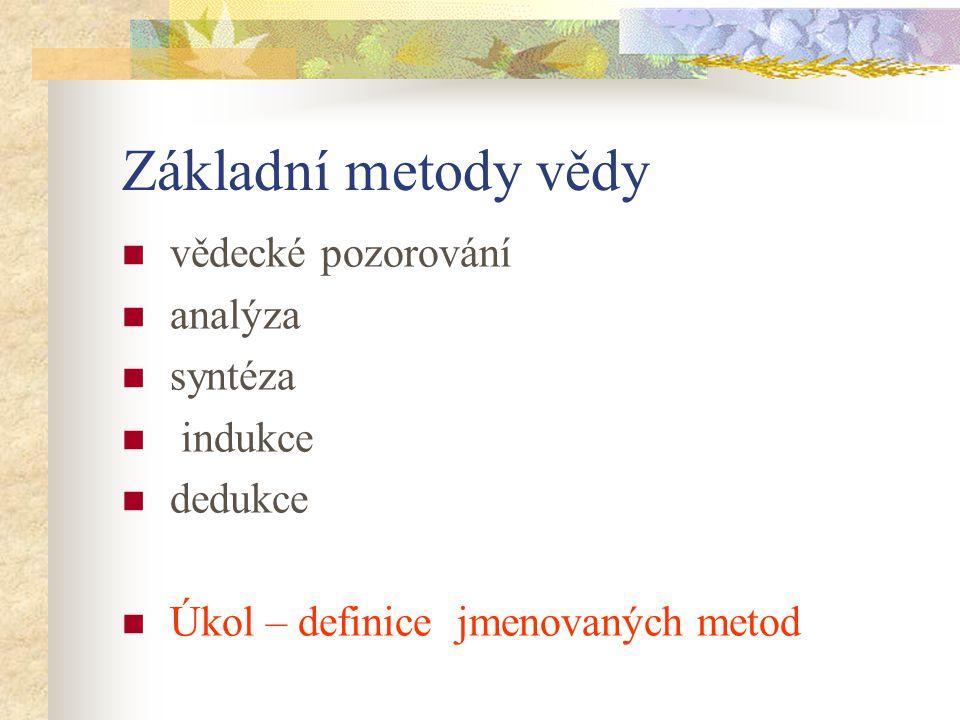 metody zkoumání vojenské geografie M E T O D Y Z K O U M Á N Í 3.2.