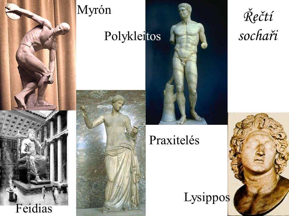 Odpovězte: Které znáte řecké sochaře?