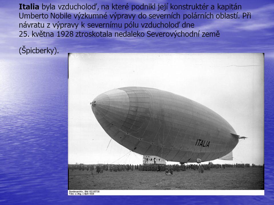 Italia byla vzducholoď, na které podnikl její konstruktér a kapitán Umberto Nobile výzkumné výpravy do severních polárních oblastí. Při návratu z výpr