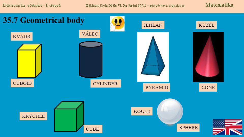 35.8 Test znalostí Správné odpovědi: 1.c 2.b 3.d 4.c Test na známku Elektronická učebnice - I.