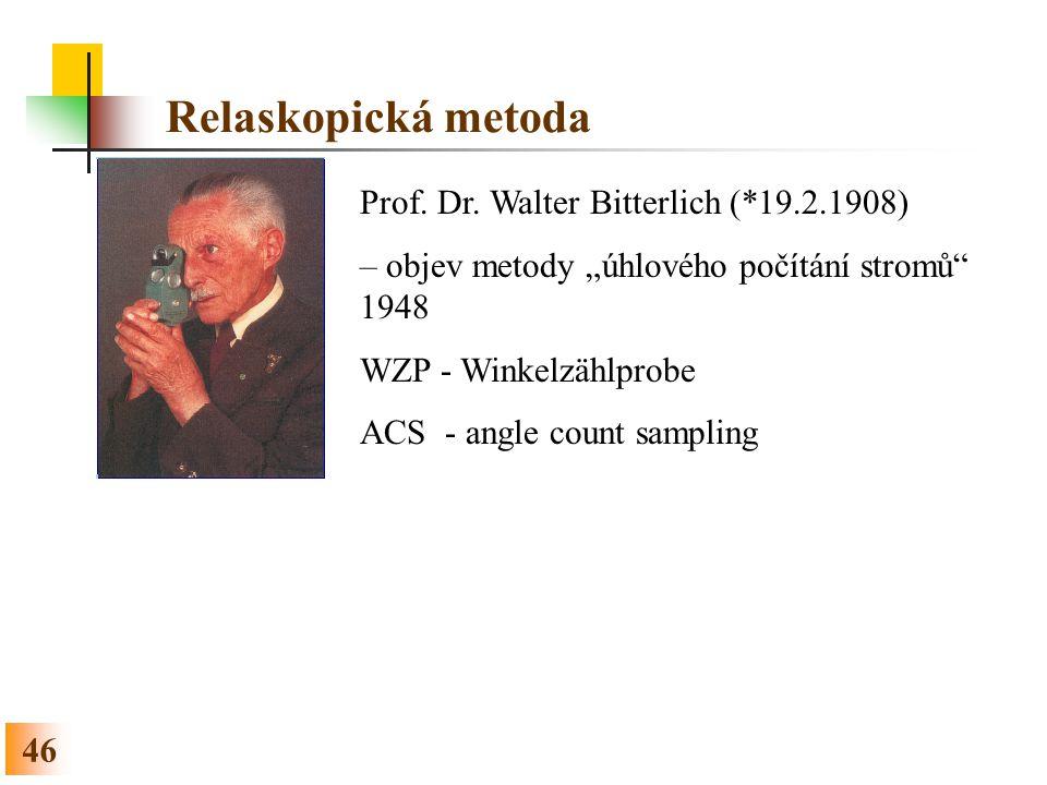 46 Relaskopická metoda Prof.Dr.