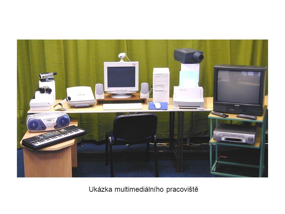 Ukázka multimediálního pracoviště