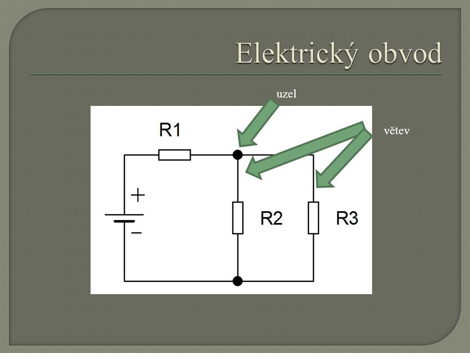 I = 1,4 A U = 2 V U = 4 V I = 2,8 A U = 6 V I = 4,2 A Poměr napětí / proud je konstantní : odpor ROhmech [Ω] Nazýváme jej odpor R, měříme v Ohmech [Ω]