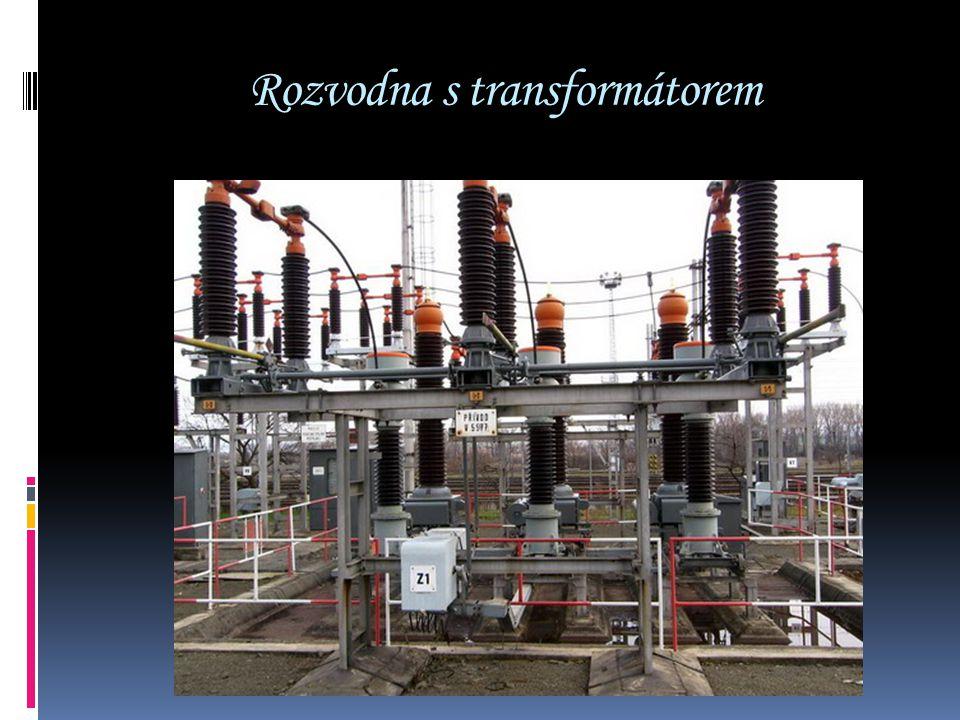 Rozvodna s transformátorem