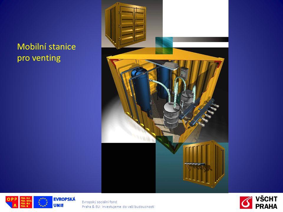 Evropský sociální fond Praha & EU: Investujeme do vaší budoucnosti Mobilní stanice pro venting