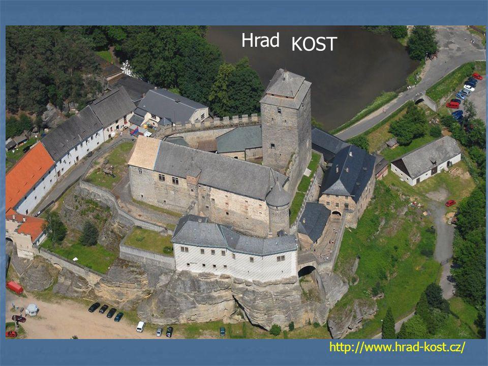 Hrad KOST http://www.hrad-kost.cz/