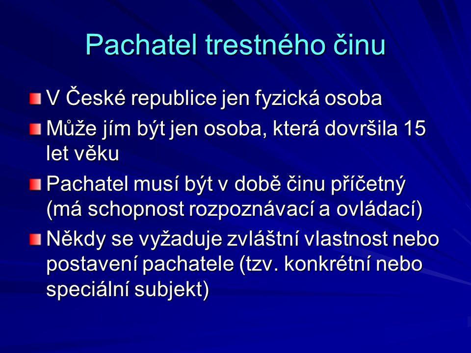 Spáchání TČ v rámci činnosti a.s. Rozhodnutí č. 48/2005 Sb.