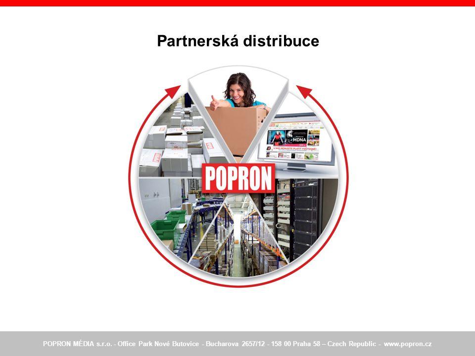 Partnerská distribuce POPRON MÉDIA s.r.o.