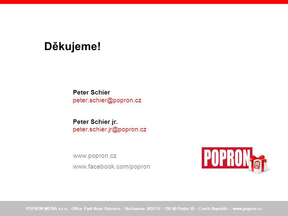 Děkujeme.Peter Schier peter.schier@popron.cz Peter Schier jr.