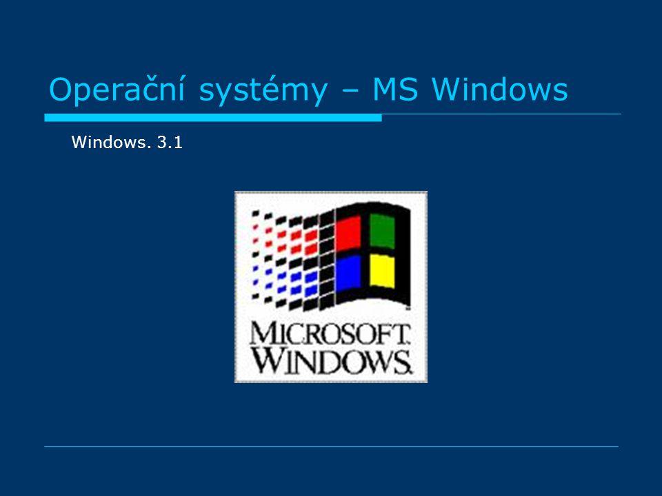 Windows. 3.1