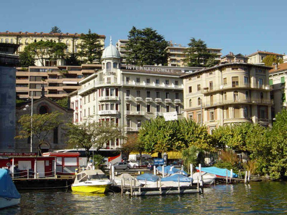 Lugano je hlavním městem kantonu Ticino.