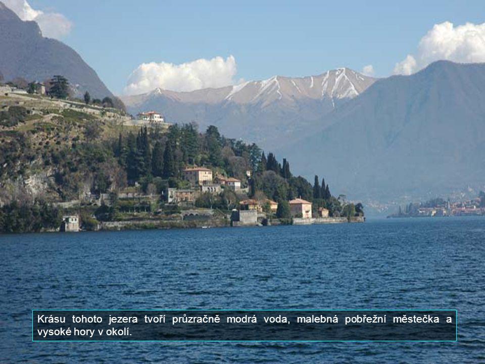 Je jedním z nejhlubších jezer v Evropě. Jeho hloubka je až 400 m.