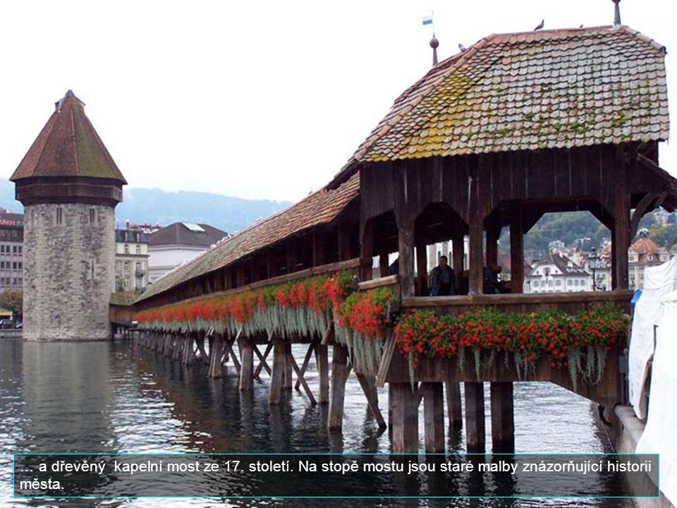 Lucern patří mezi hlavní turistická centra. Hlavními památkami jsou zbytky středověkého opevnění, vodárenská věž a......