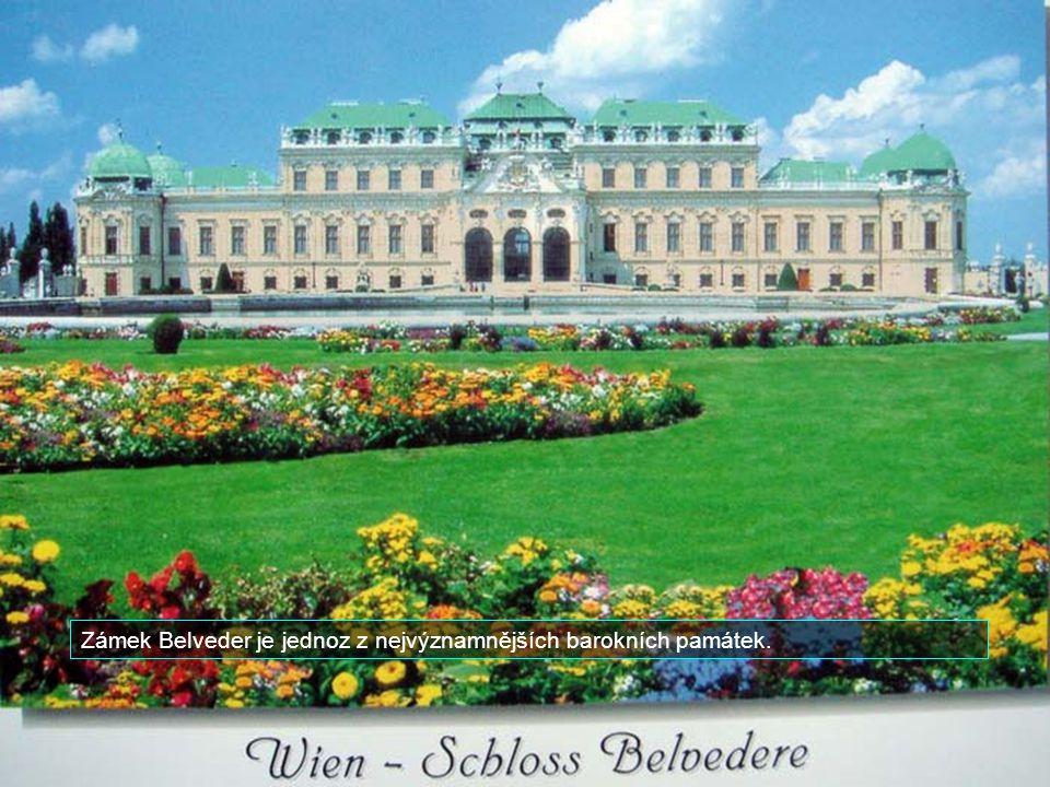 Vídeň je rodištěm skladatele Johanna Strausse. V krásném městském parku je jeho socha.