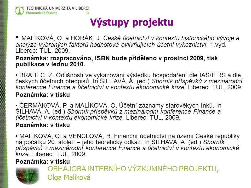 Vznik české účetní terminologie Od poloviny 19.
