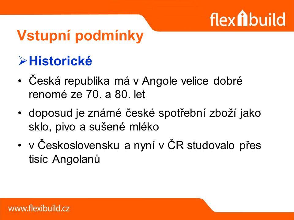 Historické Česká republika má v Angole velice dobré renomé ze 70.